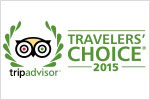 TripAdvisor 2015 Travelers Choice