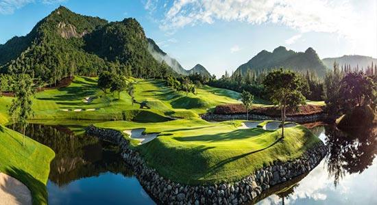 Golfing in Hua Hin Sam Roi Yot