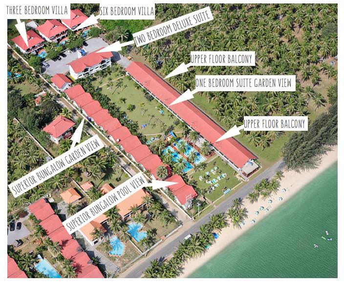 dolphin bay resort pranburi beach view